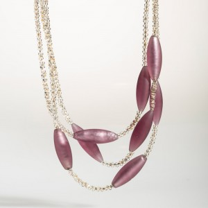 Barbara Necklace purple