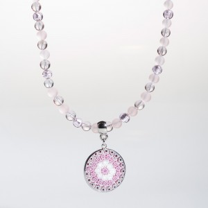 Giada Necklace pink