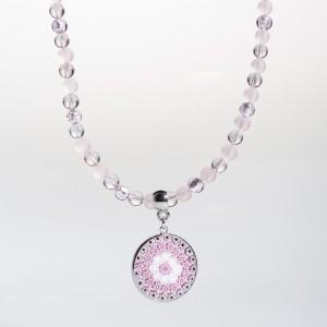 Giada Necklace pink